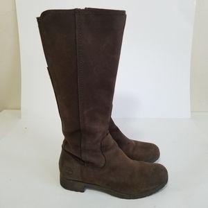 Timberland size 9 tall waterproof boots